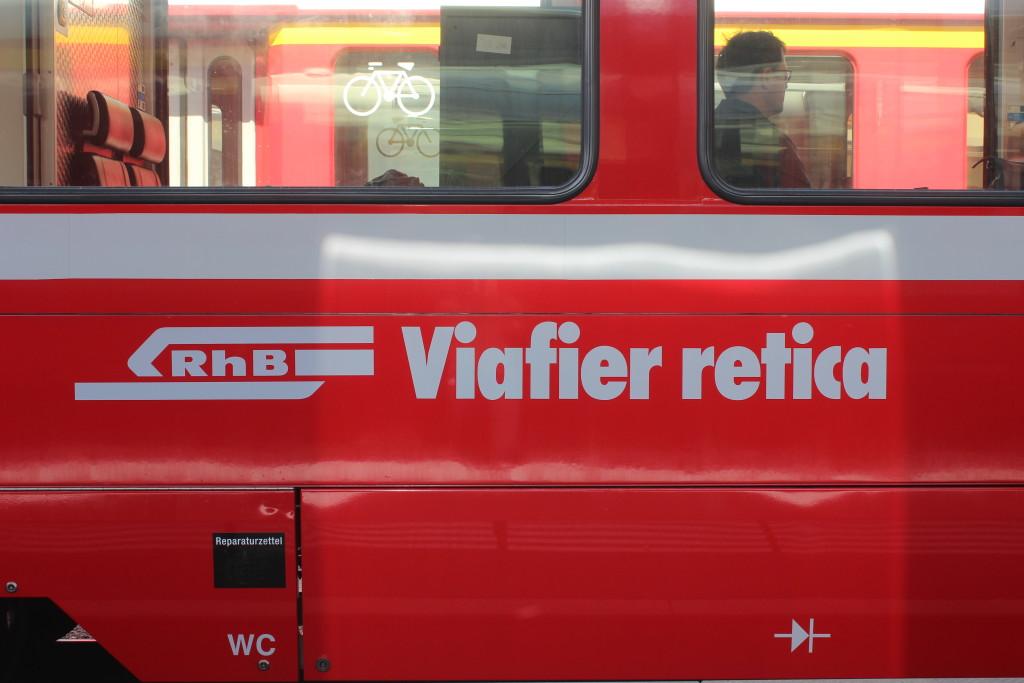 La Ferrovia Retica in romancio.