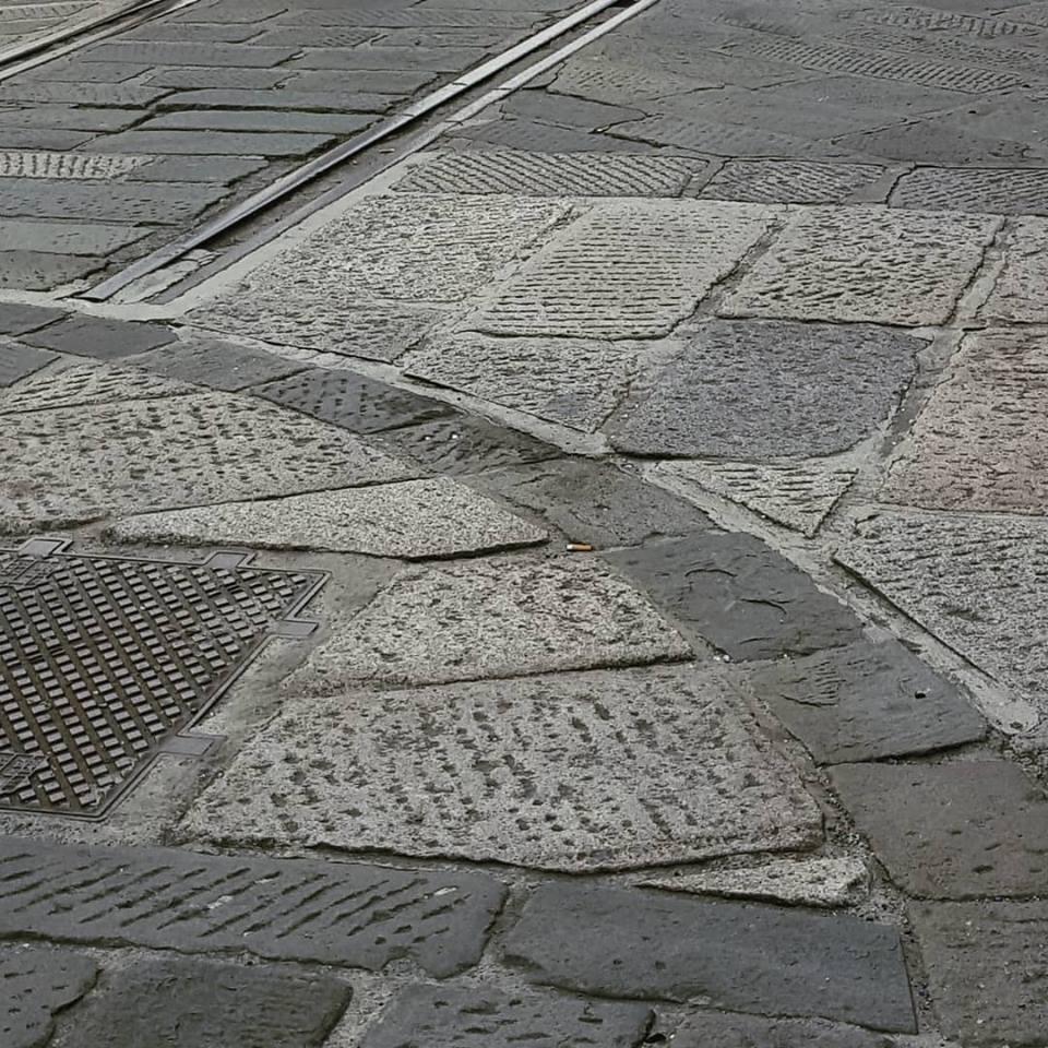 Piattaforma ferroviaria girevole (ca 1910). Conservata presso il Galata Open Air Museum, Darsena, Genova