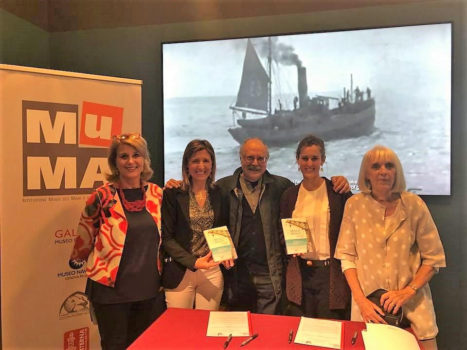 Firma del protocollo d'intesa tra Mu.MA Istituzione Musei del Mare e delle Migrazioni e l'associazione InGE