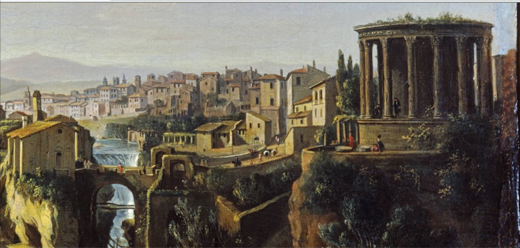 View of Tivoli, Gaspar van Wittel, ca. 1700 (da www.societatiburtinastoriaarte.it)
