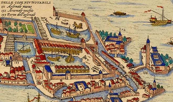 L'Arsenale di Venezia (da evenice.it)