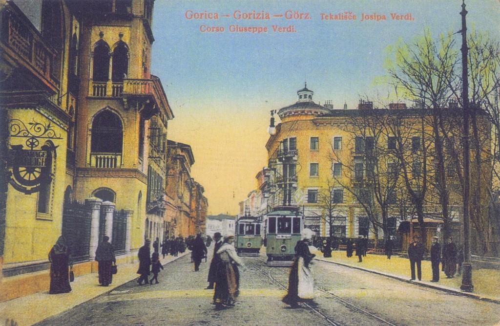 Cartolina di Gorizia del 1900 (Wikimedia Commons)