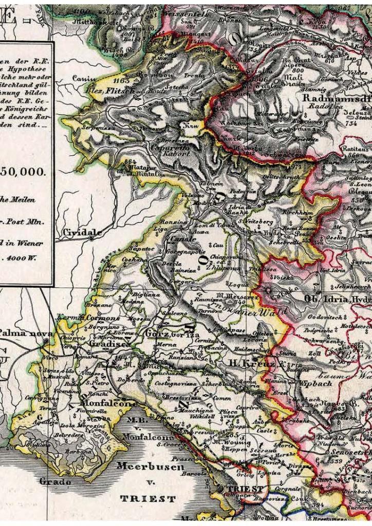La Contea di Gorizia e Gradisca nel Litorale Austriaco (www.verfassungen.at)